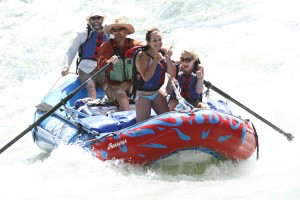 white water rafting with Idaho Wild River Adventures